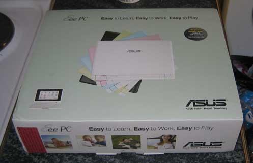 Asus EEE Unboxed